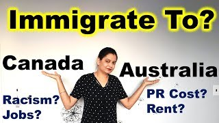 Download Life In CANADA vs AUSTRALIA | Where Should You Immigrate | Canada Couple Video