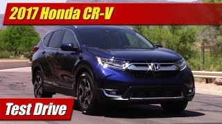 Download 2017 Honda CR-V: Test Drive Video