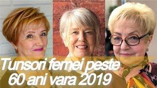 Top 20 Idei De Tunsori Par Scurt Femei In Varsta Vara 2019 Free