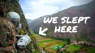 Download WE SLEPT ON THE SIDE OF A MOUNTAIN | Peru Sky Lodge Video