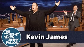 Download Kevin James Demonstrates His Physical Comedy Skills with a Pratfall Entrance Video