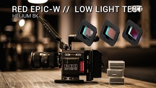 Download RED Epic-W Helium 8K S35 Sensor // Low Light Test Video