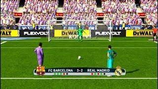Download FC BARCELONA vs REAL MADRID | El Clasico | Penalty Shootout | PES 2017 Gameplay Video