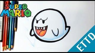 Como Dibujar A Mario Bros Kawaii Paso A Paso Dibujos Kawaii