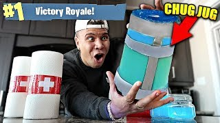 Download RARE FORTNITE ITEMS IN REAL LIFE CHALLENGE! (Fortnite Items in Real Life DIY) Video
