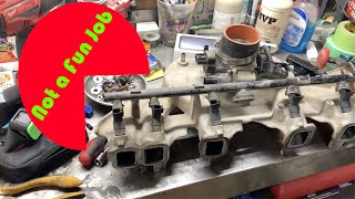 Download Jeep TJ Manifold Removal things are getting Nasty Video