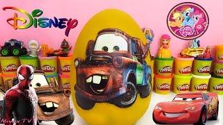 Download Şimşek McQueen Mater Sürpriz Yumurtası ve Örümcek Adam Kanal Tanıtımı Video