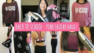 Download Victoria Secret PINK Friday Haul! (Try-on Haul) Video