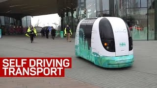 Download Self-driving transport is coming to cities. Here's how it works Video