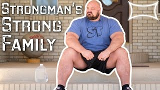 Download World's Strongest Man Brian Shaw — A Strongman's Strong Family Video