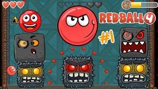 Download La Bolita Roja contra los Jefes   Juego para niños Red Ball 4   Juegos Infantiles para niños Video