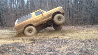 Download Wheelie Bronco, 44 Boggers, Deep Mud and Slick hills!! Video