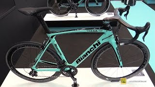 Download 2017 Bianchi Oltre XR4 Road Racing Bike - Walkaround - 2016 Eurobike Video