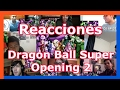 Download Reacciones: Dragon Ball Super Opening 2 | Recopilación de videoreacciones Video