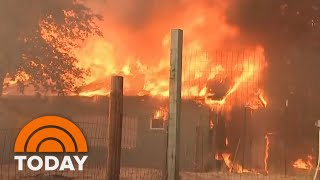 Download Mendocino Complex Fire Now Largest In California History | TODAY Video