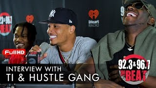 Download T.I., Young Dro, Dope Boy Ra, & GFM Bryce - Hustle Gang talk new projects and racism in America Video