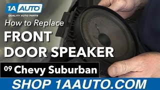 Download How to Install Replace Front Door Speakers 2007-13 Chevy Suburban Video