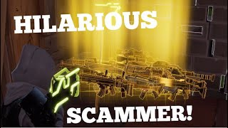 Download HILARIOUS Scammer gets Scammed in fortnite save the world pve Video