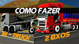 Download COMO FAZER - BI - TRUCK E 2 EIXOS - GRAND TRUCK SIMULATOR Video