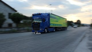 Download Scania R620 & Mercedes Serifis Straght Pipe Sound Video