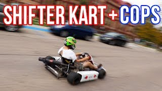 Download POLICE + SHIFTER KART through college campus!! Video