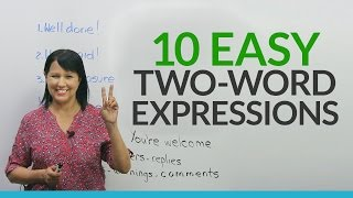 Download Say MORE with LESS: 2-Word Expressions in English Video