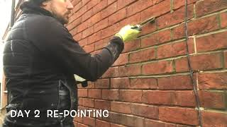 Download RE-POINTING OF BRICKWORK THE EASY WAY AND RIGHT WAY Video