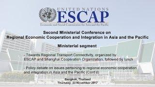 Download RECI: Ministerial segment (Cont'd) Video
