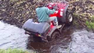 Download honda trx 500 fe mud Video