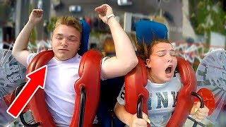 Download Boys Passing Out | Funny Slingshot Ride Compilation Video