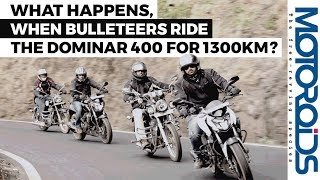 Download When Royal Enfield Riders Rode the Dominar 400 for 1300 km Video