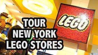 Download Inside Both Manhattan LEGO Stores (New York City) Video