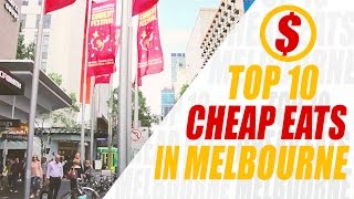 Download TOP 10 CHEAP EATS in Melbourne under $10 Video