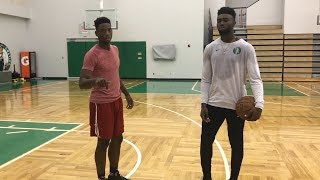 Download Playing Boston Celtics Jaylen Brown 1 on 1 *must watch* Video