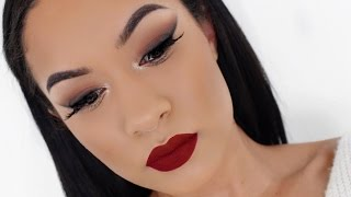 Download Smokey Winged Eyeshadow | Holiday Makeup Tutorial Video