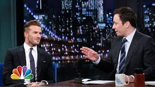 Download David Beckham Flashes Some Underwear (Late Night with Jimmy Fallon) Video