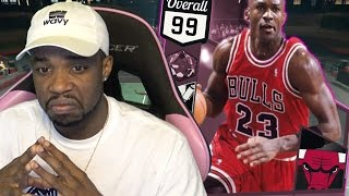 Download 99 PINK DIAMOND JORDAN DEBUT! SPIN THE WHEEL! NBA 2k17 MyTeam Gameplay Video
