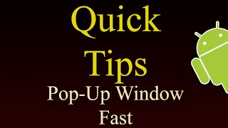 Download How To Create Pop Up Window In Android - Faster Method Video