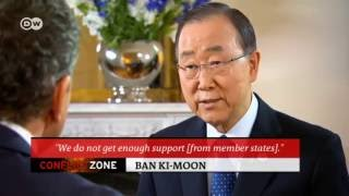Download Ban Ki-moon: Assad responsible for 300,000 deaths | Conflict Zone Video