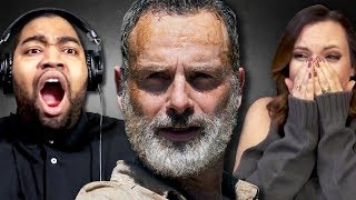 Download Fans React to Rick's Last Episode on The Walking Dead Video
