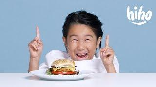 Download Kids Try Vegan Food Video