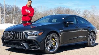 Download HERE'S WHY THE 2019 MERCEDES AMG GT63 MAY BE THE BEST 4 DOOR COUPE MONEY CAN BUY! Video