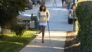 Download blue crutches sak rhd Video