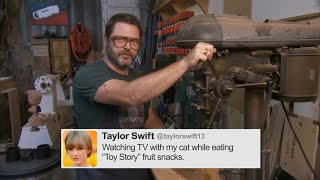 Download Nick Offerman Reads Tweets From Young Female Celebrities Vol. 2 - CONAN on TBS Video