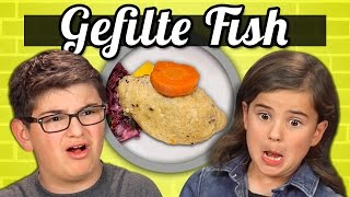 Download KIDS vs. FOOD - GEFILTE FISH Video