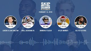 Download UNDISPUTED Audio Podcast (02.14.19) with Skip Bayless, Shannon Sharpe & Jenny Taft | UNDISPUTED Video