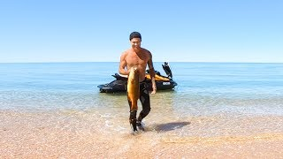 Download YBS Lifestyle Ep 14 - SPEARFISHING FROM A JETSKI | Coral Trout Catch And Cook Video