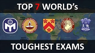 Download Top 7 World's Toughest Exams To Crack Video