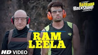 Download Ram Leela Video Song   Baa Baaa Black Sheep   Anupam Kher   Maniesh Paul   Manjari Fadnnis Video