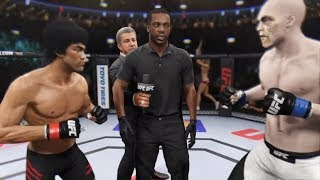Download Bruce Lee vs. Deadman (EA Sports UFC 2) - CPU vs. CPU Video
